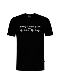 T-Shirt Work of Heart Noir