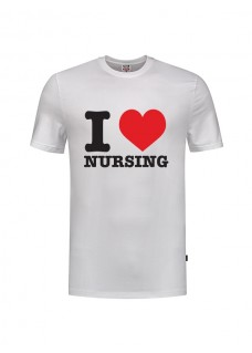 T-Shirt I love Nursing Blanc