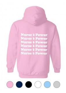 Hoodie Gildan Nurse is Power