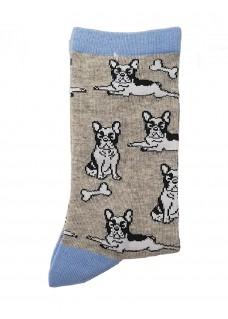 Chaussettes Happy Bulldog pour Femme