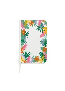 Cahier A5 Feuilles tropicales