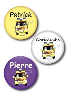 Badge Pins Ambulance