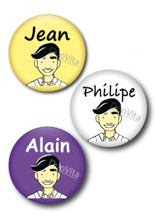 Badge Pins Infirmier