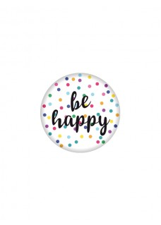 Badge Be Happy