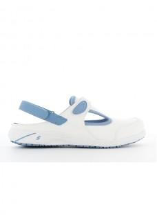 Oxypas Safety Jogger Carly Blanc/Bleu
