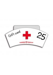 Bon cadeau 25€ Nurse O'Clock