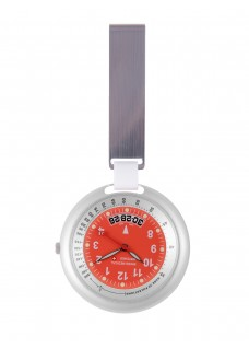 Montre Swiss Medical Professional Line Argent Rouge - Limited Edition