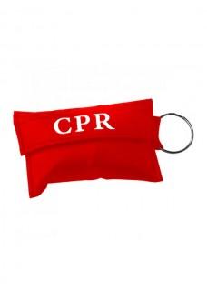 CPR Masque Porte-clés Rouge