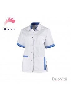 Haen Tunique Bente Blanc Bleu