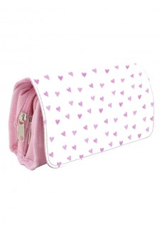 Trousse Medicale Coeurs Roses Rose
