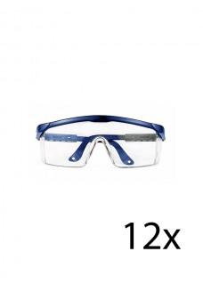 Lunettes de protection Hospitrix 12 Pièces