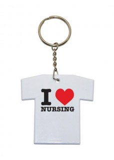 Porte-Clés T-Shirt I Love Nursing