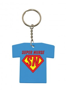 Porte-Clés T-Shirt Super Nurse
