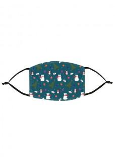 Masque en Tissu Symboles de Noël
