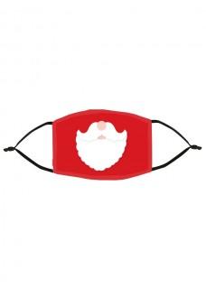 Masque en Tissu Père Noël