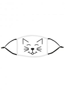 Masque en Tissu Chat