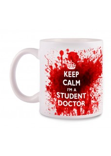 Tasse Student Doctor avec Nom Imprimé