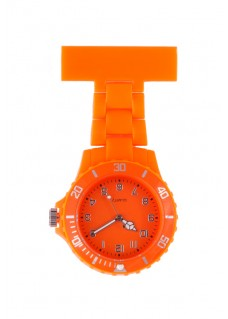 Montre Infirmière Néon Fluo Orange