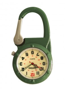 Montre Infirmière NOC70 Lumineuse Vert