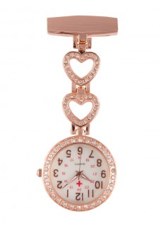 Montre Infirmière Love Or Rose