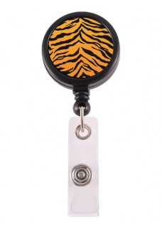 Porte Badge Enrouleur Tigre