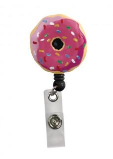 Porte Badge Enrouleur Donut