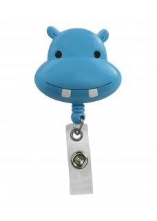 Porte Badge Enrouleur Hippopotame