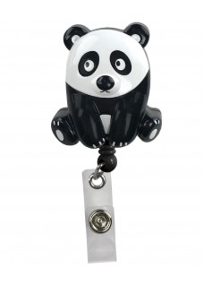Porte Badge Enrouleur Panda