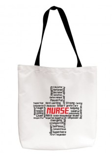 Sac Réutilisable Nurse Cross