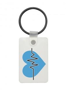 Porte-Clés USB ECG Bleu