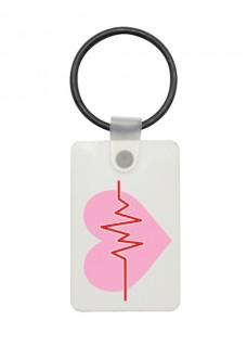 Porte-Clés USB ECG Rose