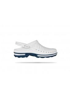 Wock Clog 02 Bleu / Blanc