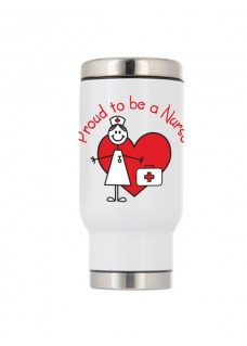 Mug Isotherme Thermique Proud to be a Nurse