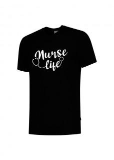 T-Shirt Nurse Life Noir