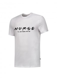 T-Shirt Nurse For You Blanc