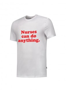 T-Shirt Nurses Can Do Anything Blanc