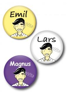 Badge Pins Infirmier