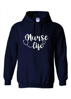Hoodie Gildan Nurse Life