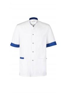 Haen Tunique Floris White/Royal Bleu