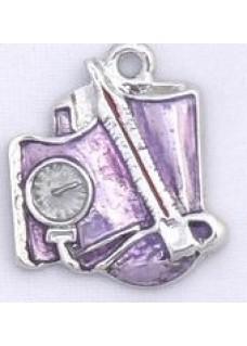 Breloque Tensiomètre Violet