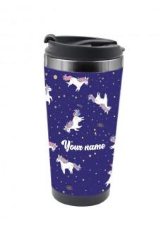 Mug Isotherme Thermique Licorne