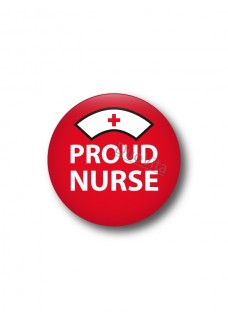 Badge Proud Nurse