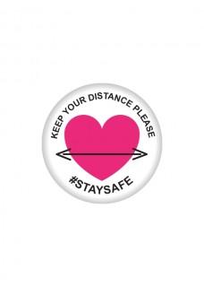 Badge Keep Distance