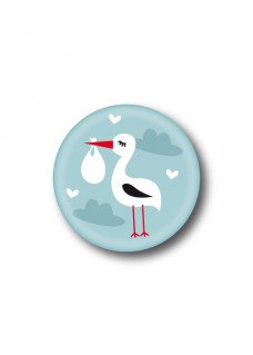 Badge Cigogne Baby