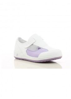 Oxypas Safety Jogger Camille Blanc/Lilas