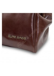 Elite Bags CLASSY'S Cuir Marron
