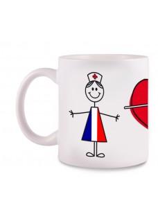 Tasse Stick Nurse France