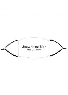 Masque en Tissu avec Nom / Texte