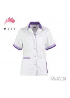 Haen Tunique Bente Blanc Violet