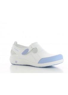 Oxypas Lilia Blanc/Bleu